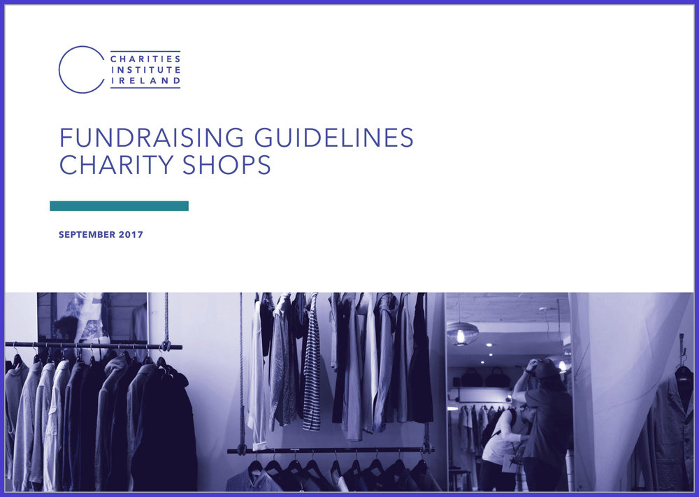 Fundraising Guidelines: Charity Shops