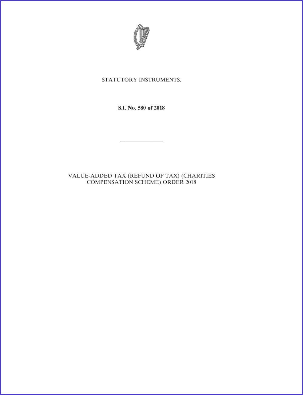 VAT compensation scheme for charities