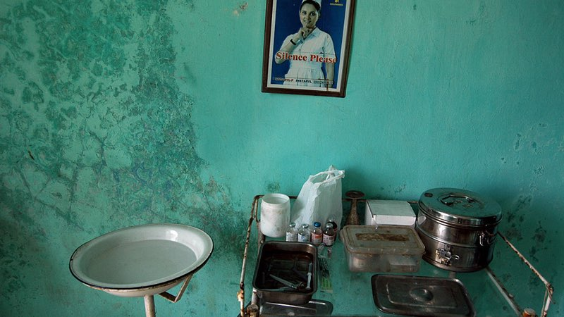 Photo by Prasad Gori/Hindustan Times via Getty Images  File photo of a Primary Health Centre in Thane District, Maharashtra (courtesy: National Herald India)