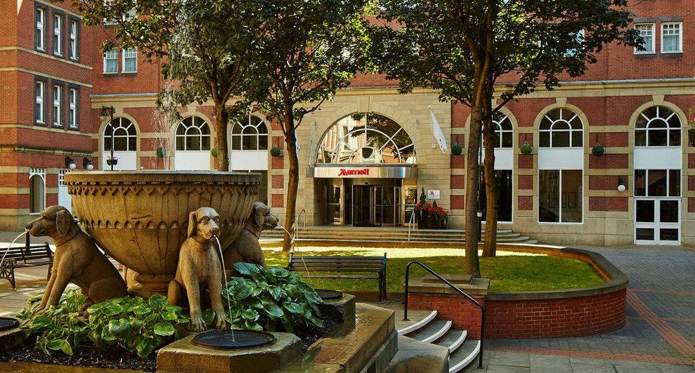 Leeds Marriott Hotel,Trevelyan Square
