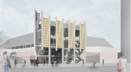 Feature_Artist impression of the new entrance at West Yorkshire Playhouse credit Page Park.jpg