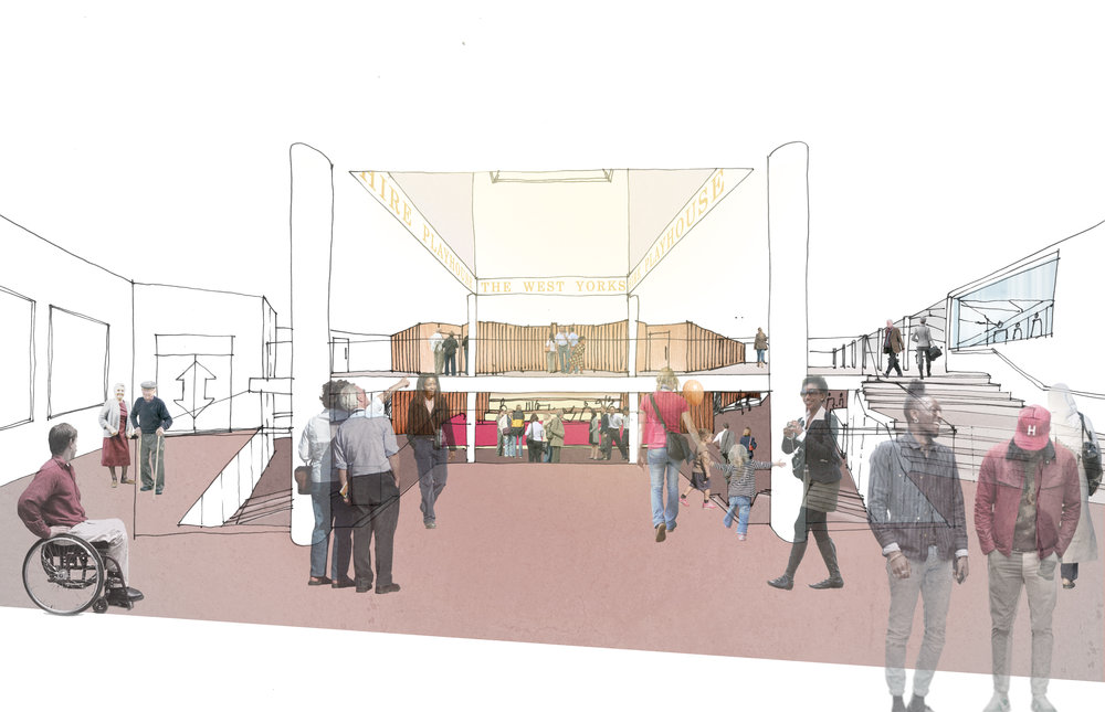 Artist impression of the foyer at West Yorkshire Playhouse credit Page Park.jpg