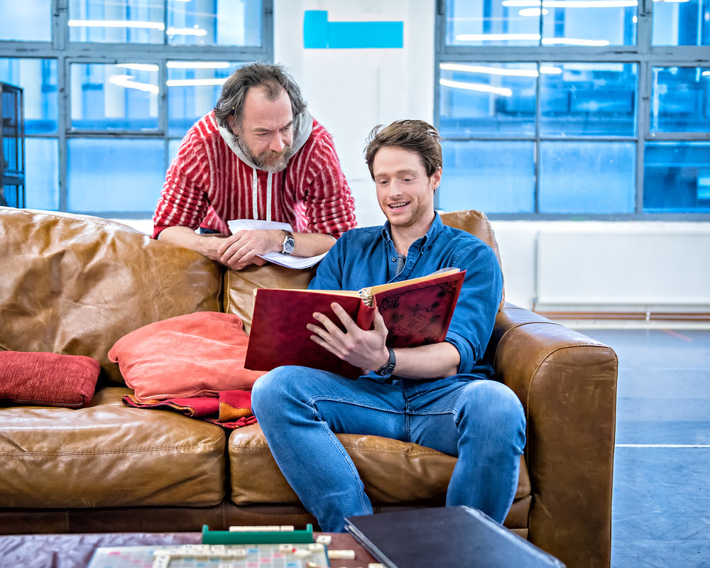 Dominic Mafham and Andrew Rothney in Still Alice rehearsals. Photography by Anthony Robling..jpg