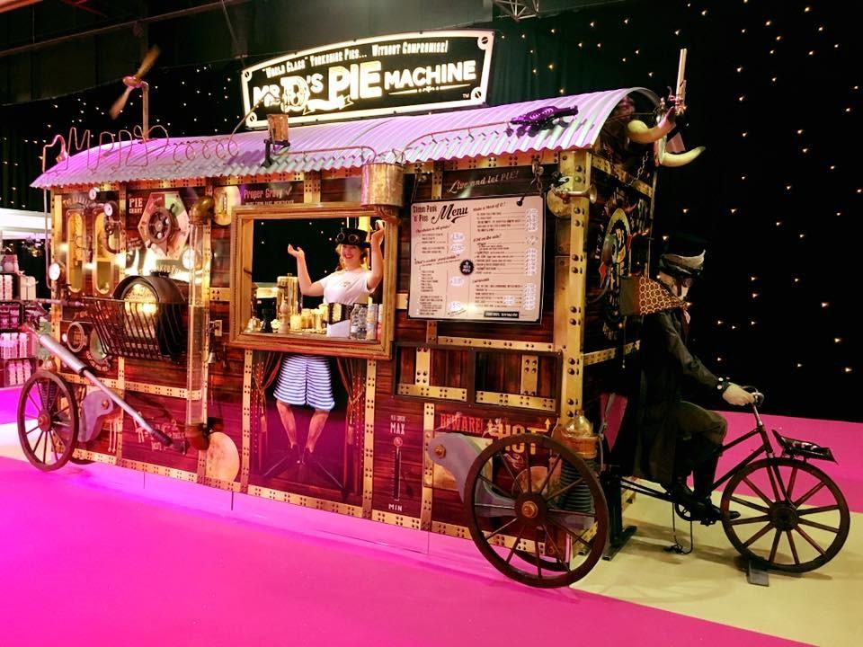 Mr D's Magnificent Pie Machine