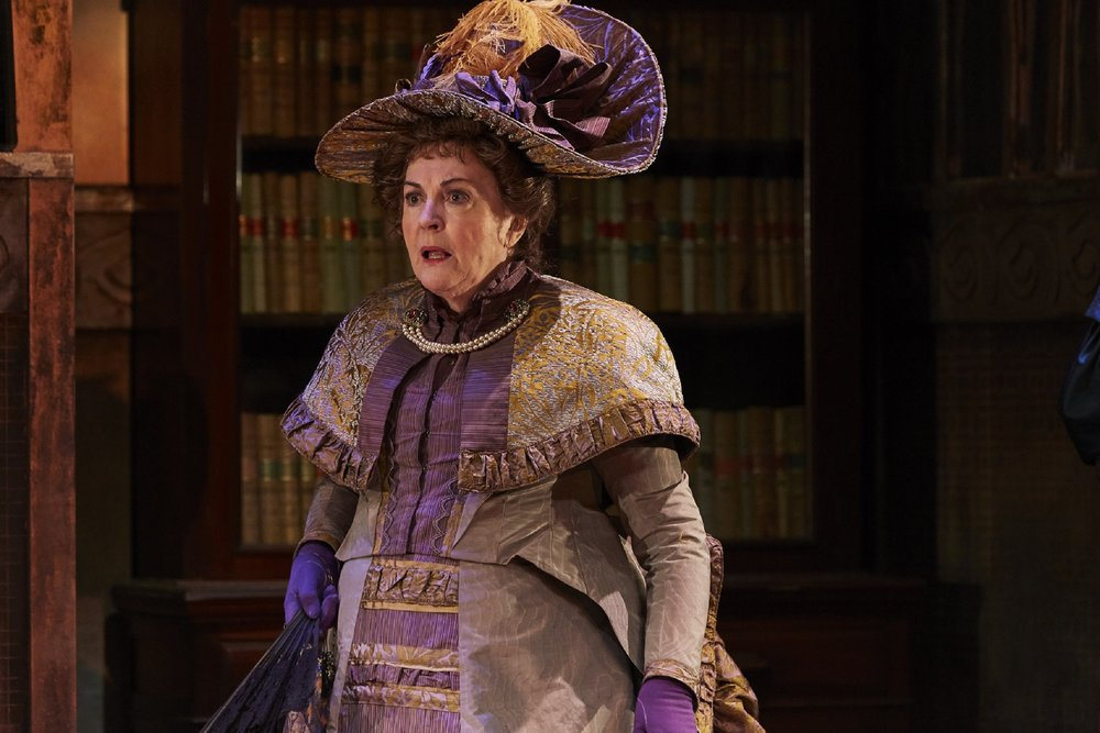 Gwen Taylor as Lady Bracknell in THE IMPORTANCE OF BEING EARNEST, credit The Other Richard.jpg