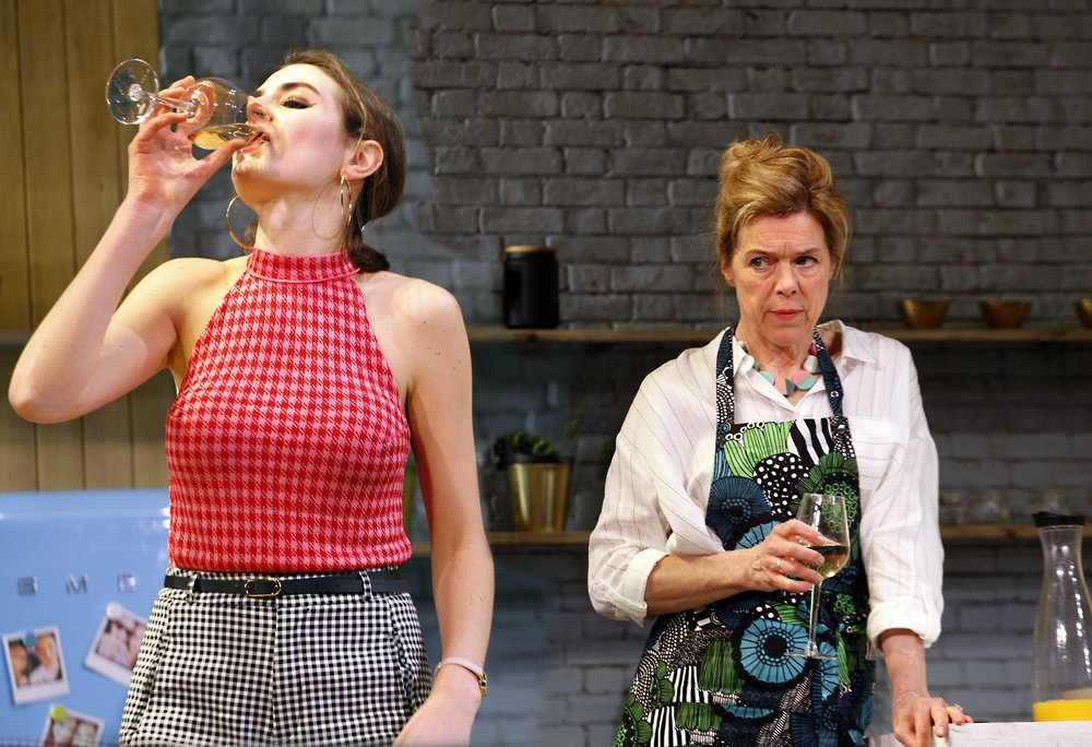 Genevieve Gaunt as Amanda & Janie Dee as Caroline Mortimer in MONOGAMY, credit Simon Annand.jpg