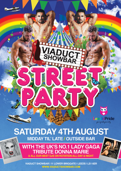 Viaduct Showbar - Saturday 4th August