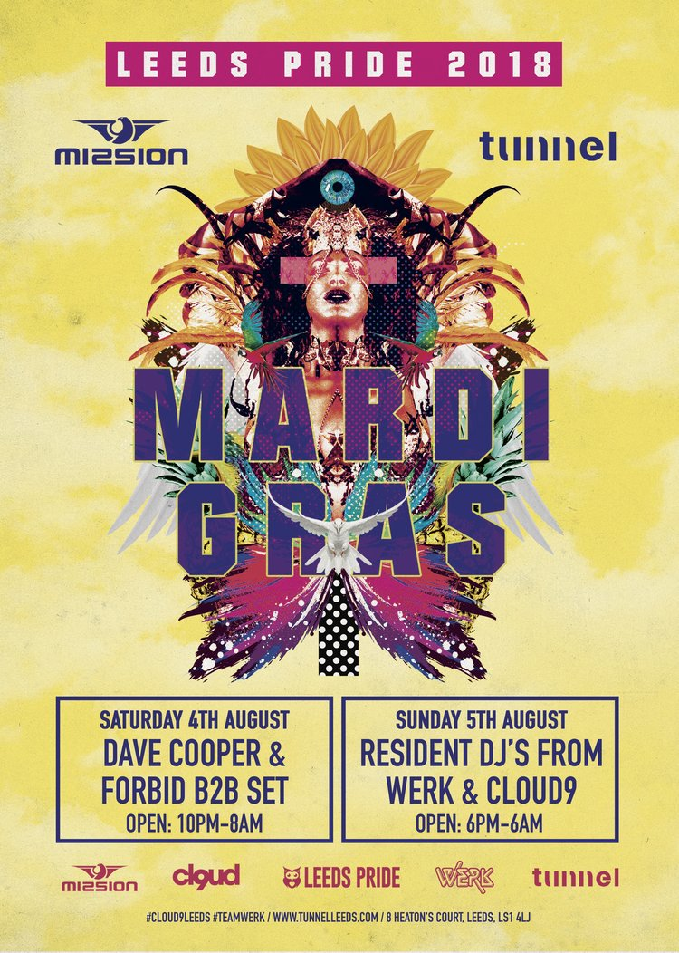 Club Mission & Tunnel - Saturday 4th August