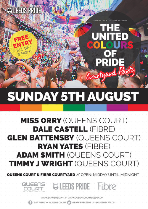Bar Fibre & Queens Court - Sunday 5th August