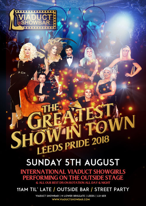 Viaduct Showbar - Sunday 5th August