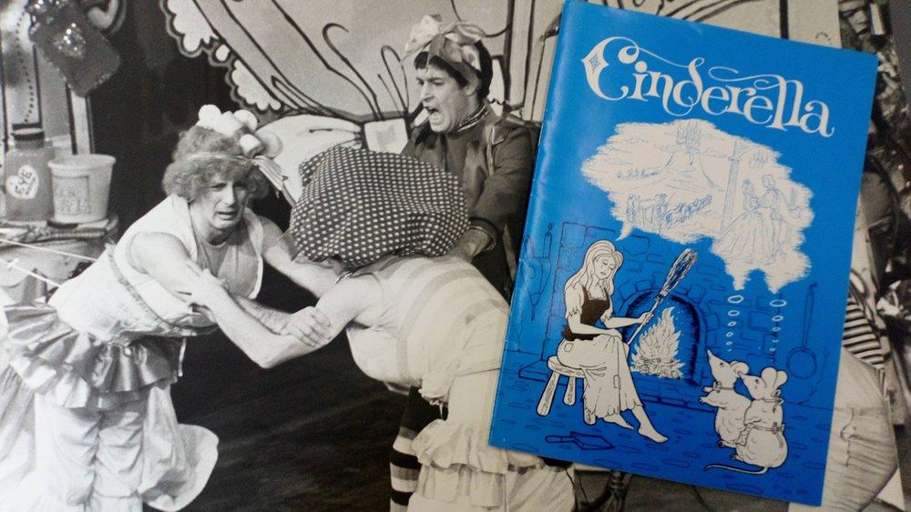 Cinderella 1977 - Berwick Kaler's first York panto Cinderella