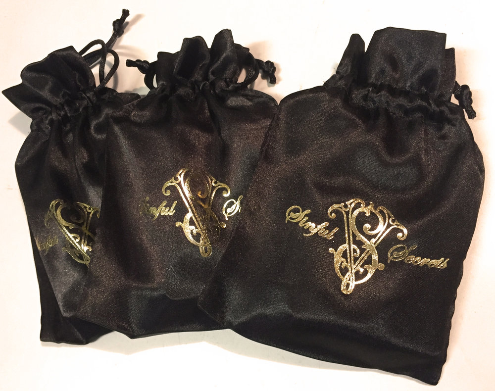Your new game comes supplied in a discrete, tidy and sexy little black satin pouch to keep handy and in your pocket, or bag, ready to entertain friends and new acquaintances alike. Play it at home or take it with you to liven-up your night out, then wait for the fun to start!