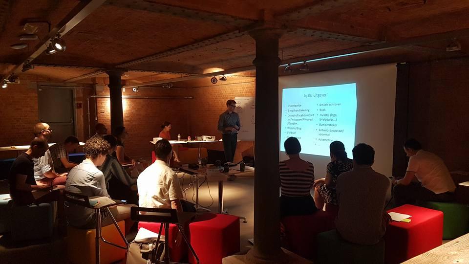De vorming vond plaats bij JCI Gent partner Wijs.