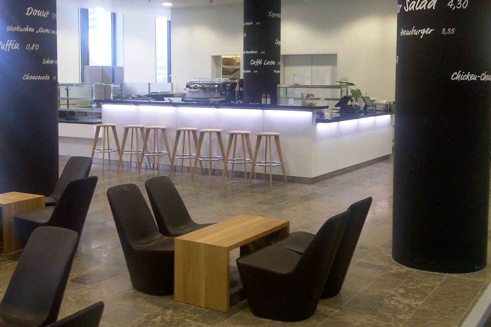 Meet me! CafeteriaCreating inviting spaces for communication. - see more