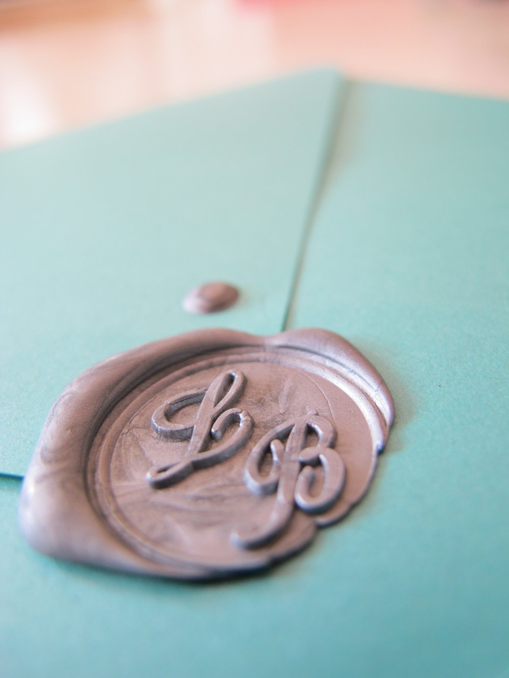 Perfect Moments Monogram Wax Seal