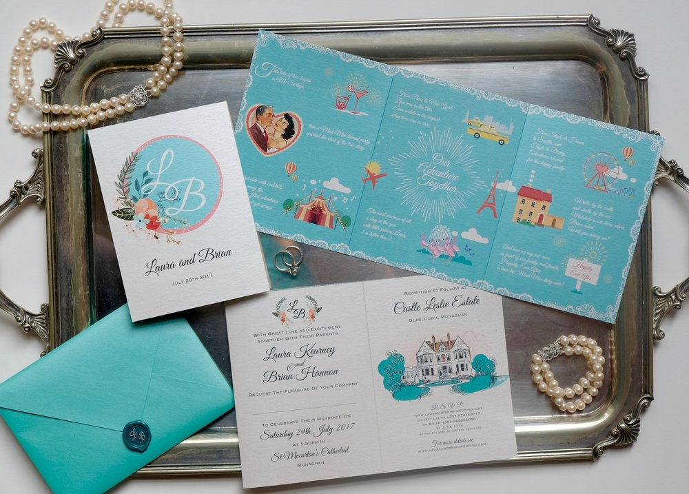 Perfect Moments LB Invitation Suite
