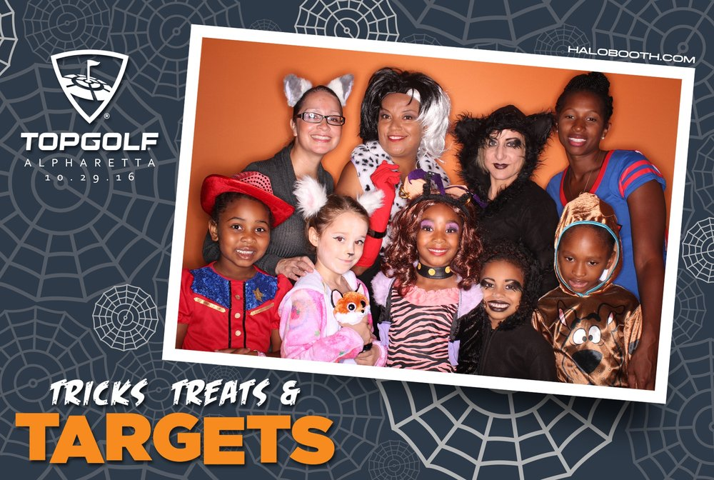 Tricks, Treats & Targets @ TopGolf Alpharetta