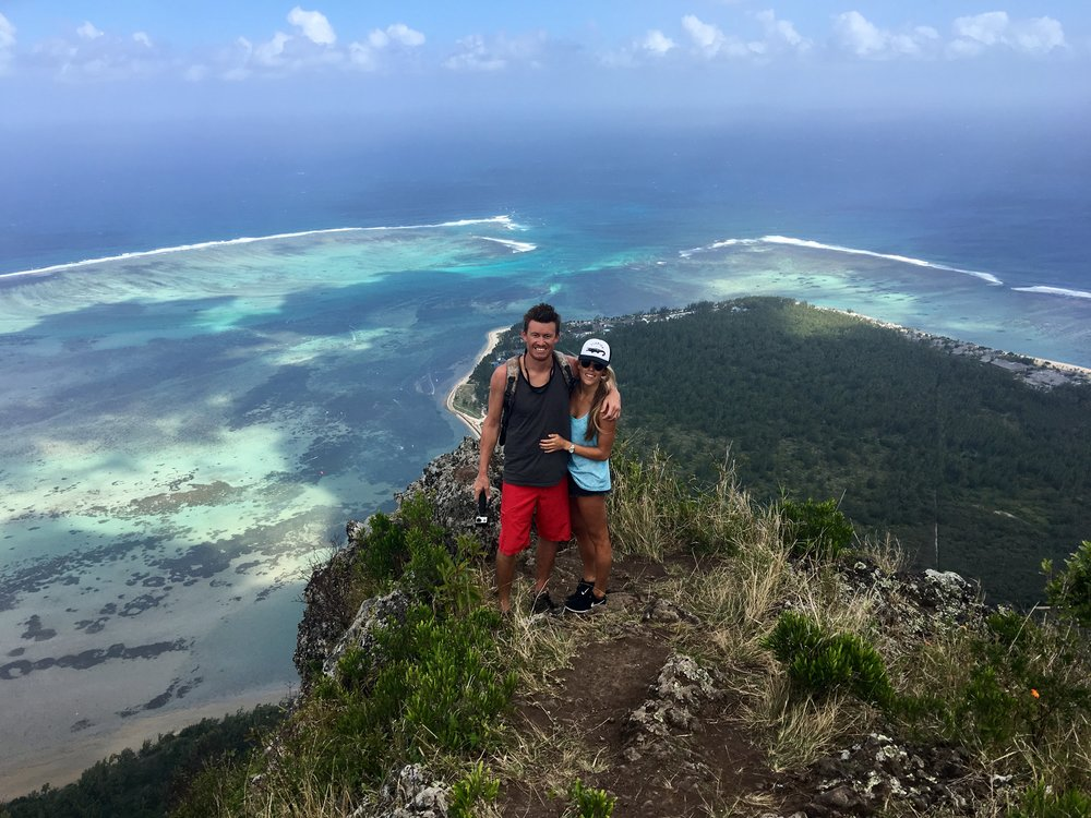 Top of Le Morne Mauritius