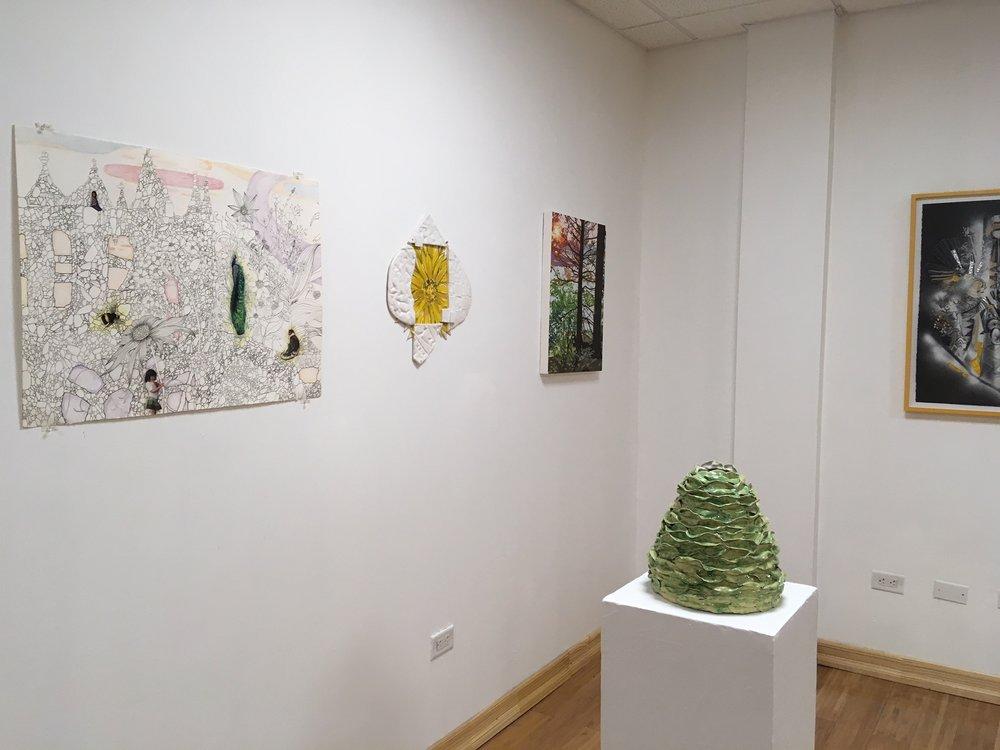 Topos 13 , 2009-2018 Return to Light exhibit, 2018 Green Door Gallery Brooklyn, NY