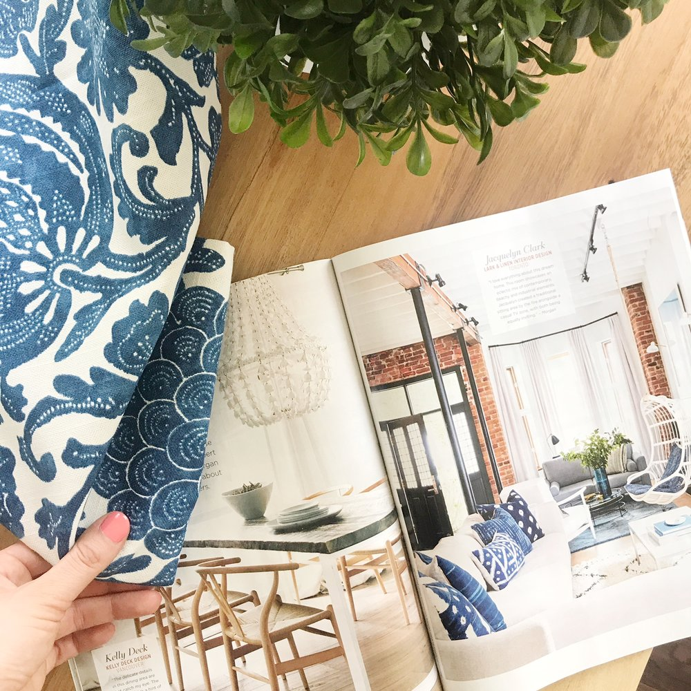 Daily inspiration from one of my favourite magazines:  Style at Home