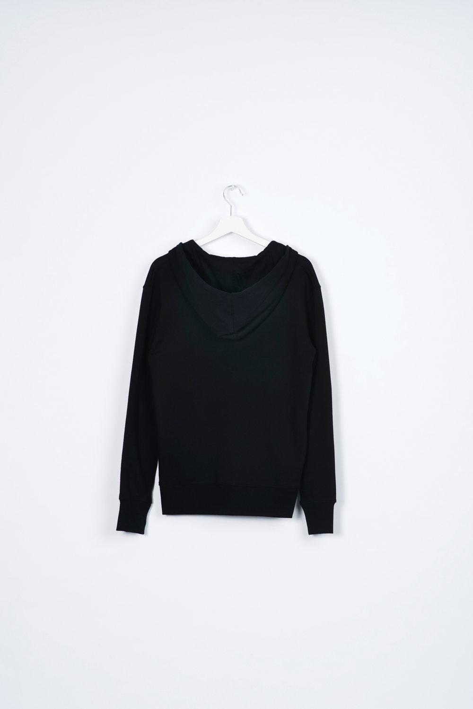 Black t shirt hoodie - Black Zip Hoodie