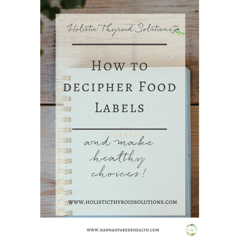 How to decipher food labels and make healthy choices at the grocery store.