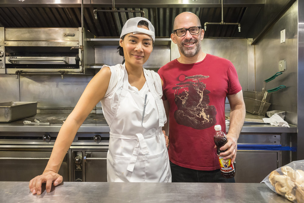 Chef Hong Thaimee and her business partner, Matt Bruck