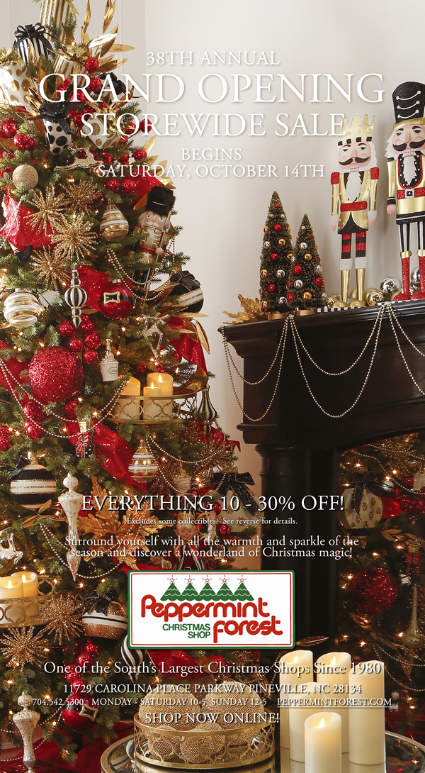 peppermint forest christmas shop charlotte nc sale north - Peppermint Forest Christmas Shop