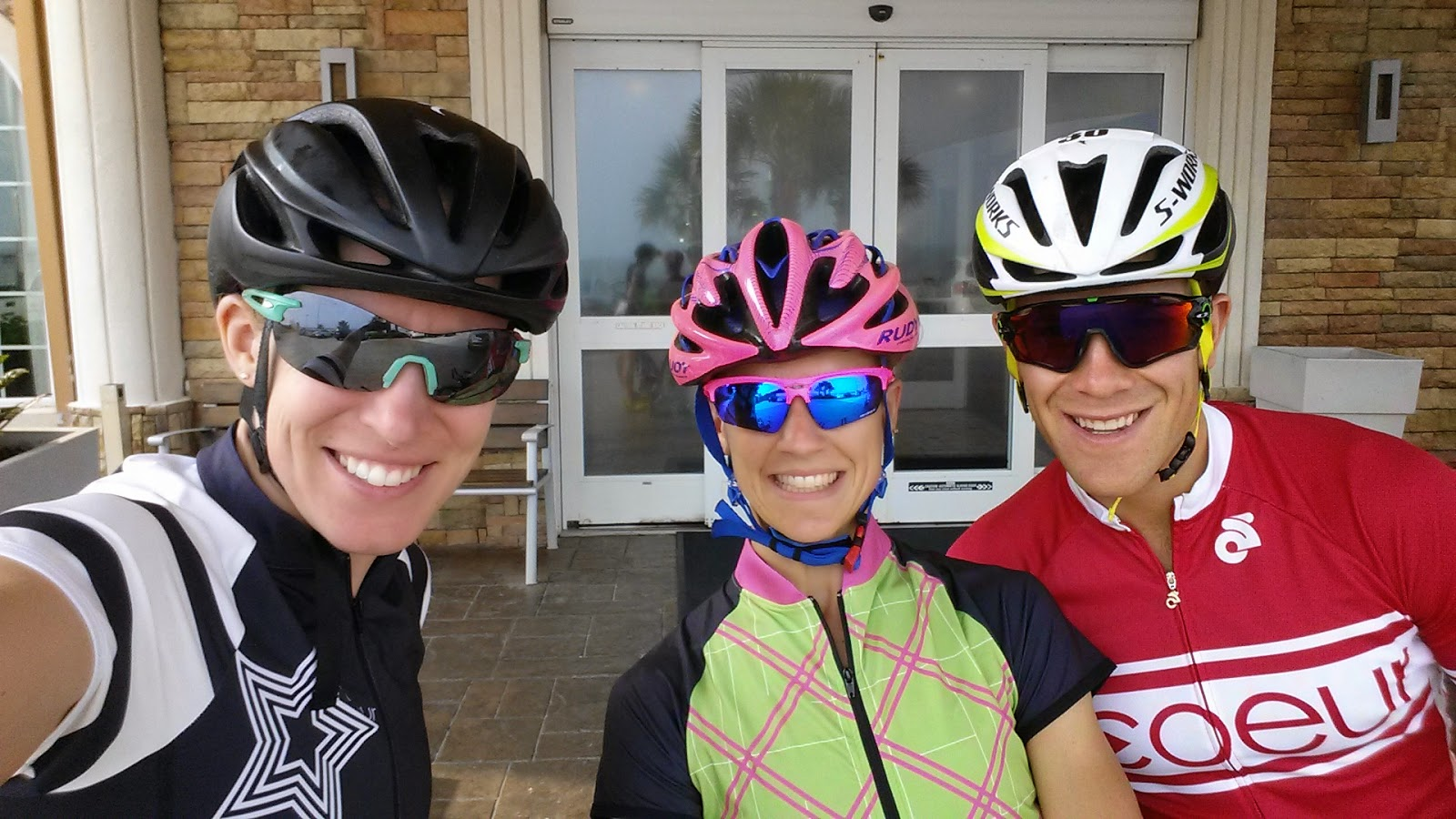 Heading out for a ride, in Coeur Sports style. (photo cred: Beth Shutt)