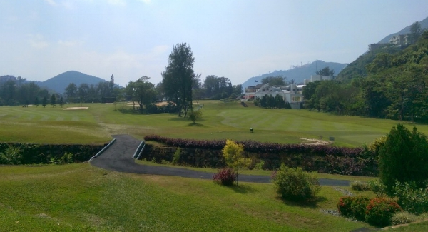 Hong Kong Golf Club - Fanling, Hong Kong   PVC - Rainbird Satellite System