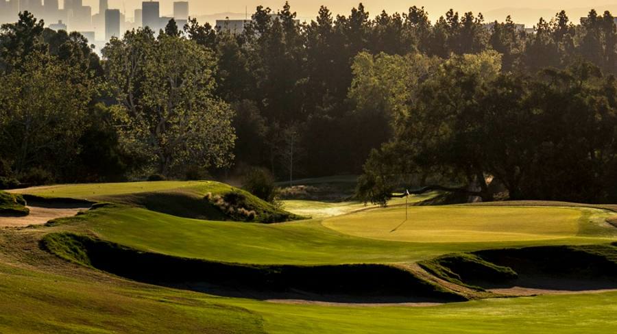 Los Angeles Country Club - South Course - Los Angeles, CA   PVC - Toro Satellite System