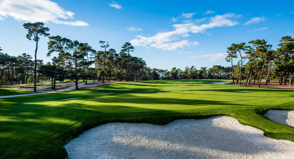 Poppy Hills Golf Course - Pebble Beach, CA   PVC - Toro GDC System