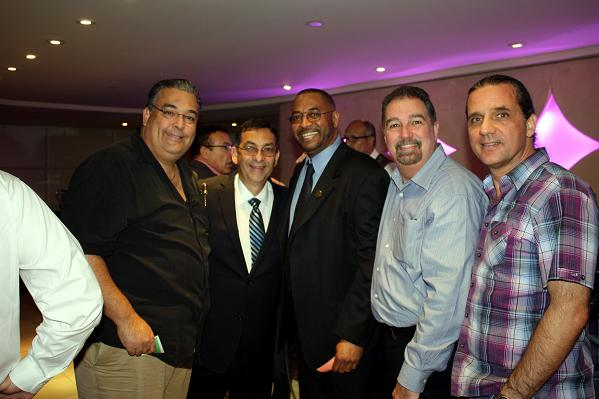 IAO President Dr. Alvin Cardona (second from left) with some friends