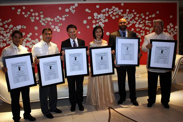 New IAO Diplomates include (from left): Drs. Gami Urbi, Fred Valera, William Willis, Maridin Lacson, JJ Solano, & Bobby Dacanay