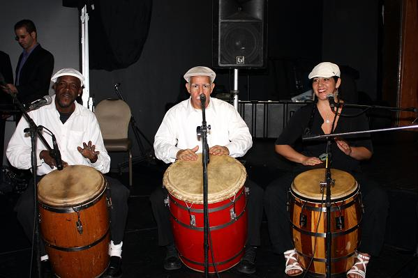 Puerto Rican band entertains guests at the IAO Annual Banquet