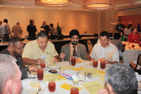 The IAO Annual Meeting Luncheon gives attendees time to relax and catch up with friends or meet new ones.