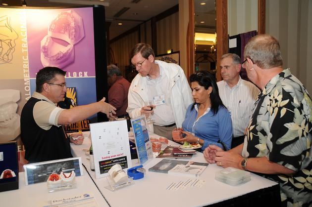 IAO Members learn about new products and technology at the Dockstader booth in the Exhibit Hall