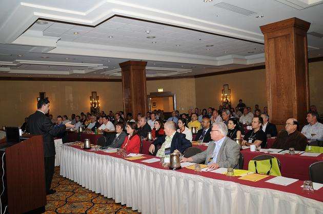 The 2008 IAO Annual Meeting started strong with a lecture by Dr. Derek Mahony (left)