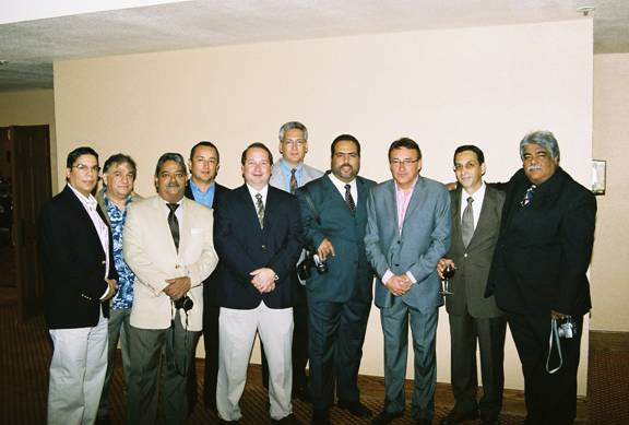 The IAO Puerto Rico Section had a strong presence at the meeting, including many of the doctors shown above