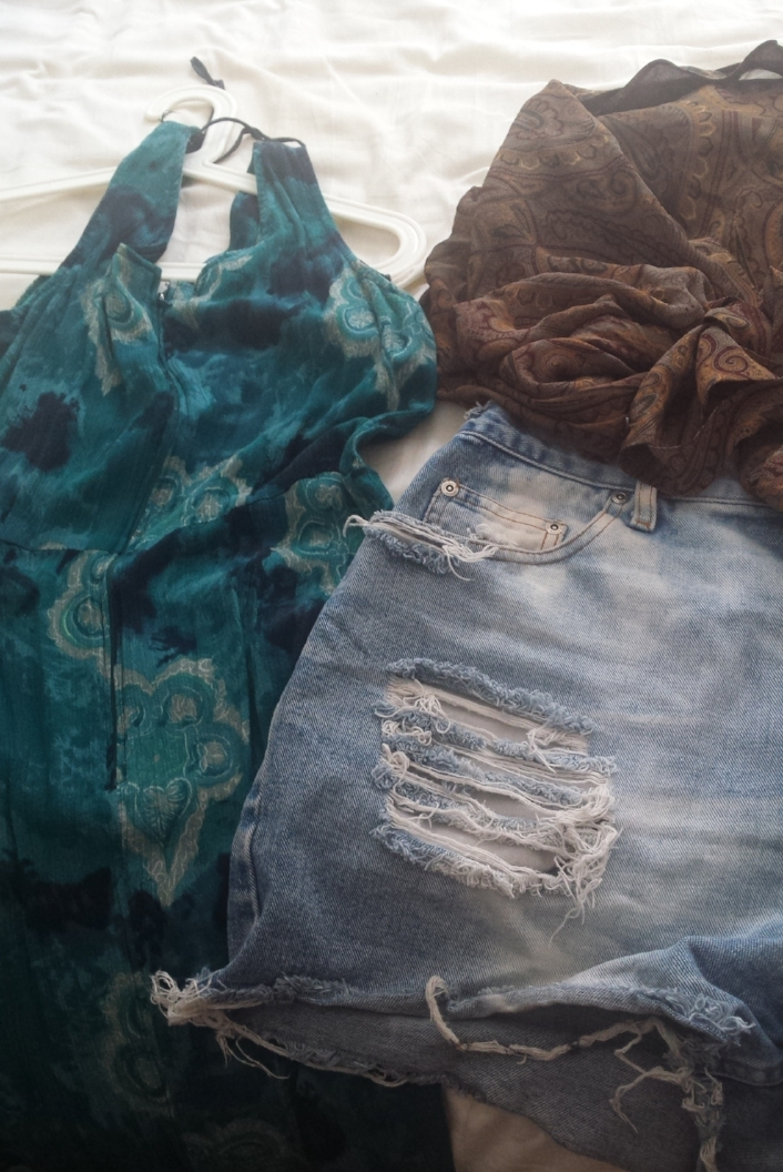 Samples of the vintage clothes in my closet.