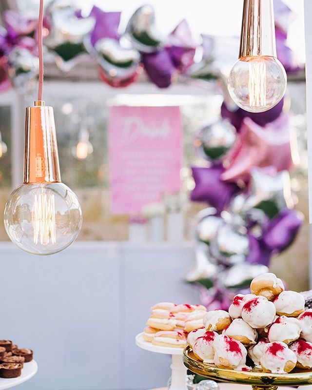 || COPPER || Featured recently on @partywithlenzo . This 80s glam 21st @m_eventhire styled and set out had the lot!! 📸 @thedayweddings 💡 @eightyeightevents  #eventlightingperth #electricalcreative #eightyeightevents