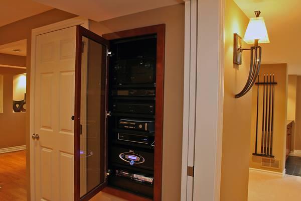 Sound System Cabinet Installation