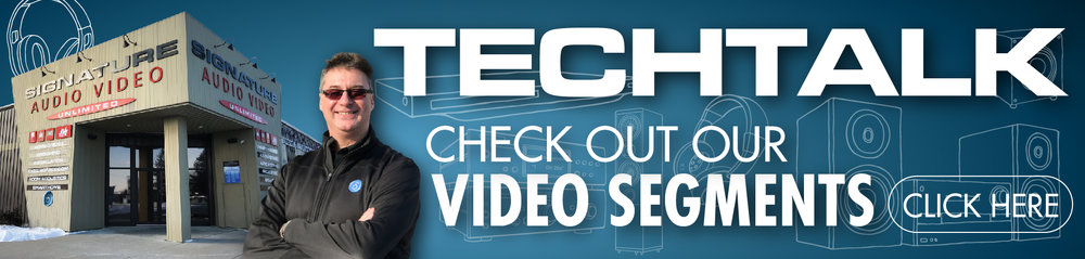 Signature Audio Video TECHTALK video segments
