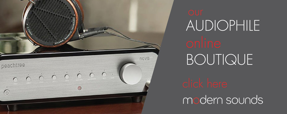 Signature Audio Video Modern Sounds online audiophile boutique