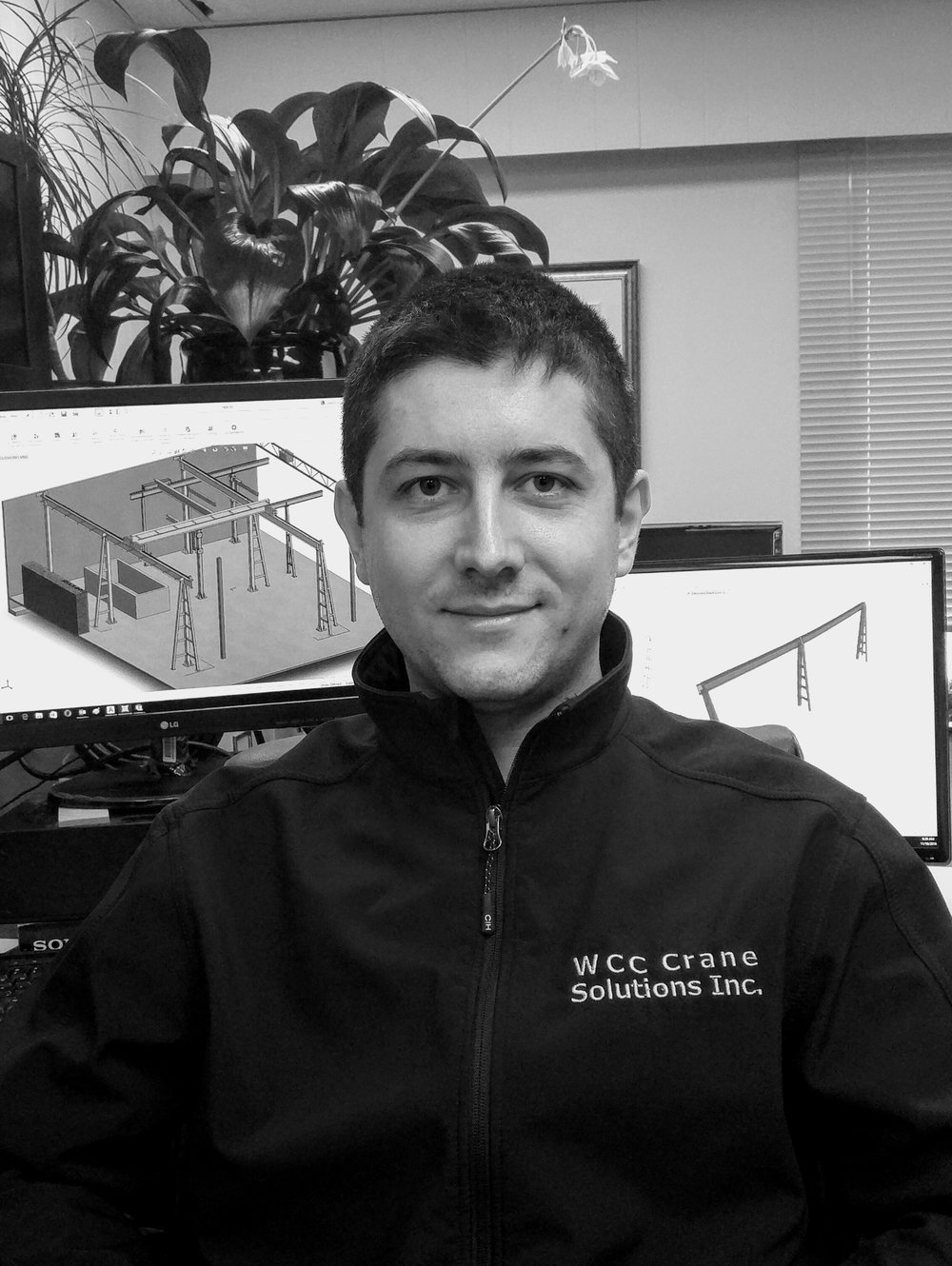George Grujic    - Structural Engineer -   George has been involved in civil and structural engineering for over 7 years. He began his career in Serbia before moving to Canada 6 years ago and has been with WCC Crane Solutions since 2014.  George is always expanding his knowledge in the engineering field and is currently working towards this Professional Engineering (P. eng.) license.  George lives in Burnaby and has recently become a new father.     LinkedIn