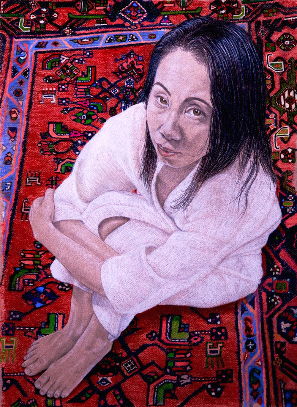 Woman on Persian Rug.jpg