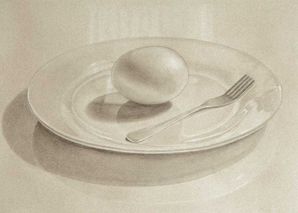 Goose egg on a dinner plate.jpg