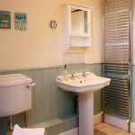 Blakeney cottage farrow and ball blue green