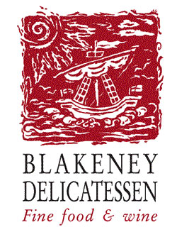 The Blakeney Deli  is just around the corner from the cottage