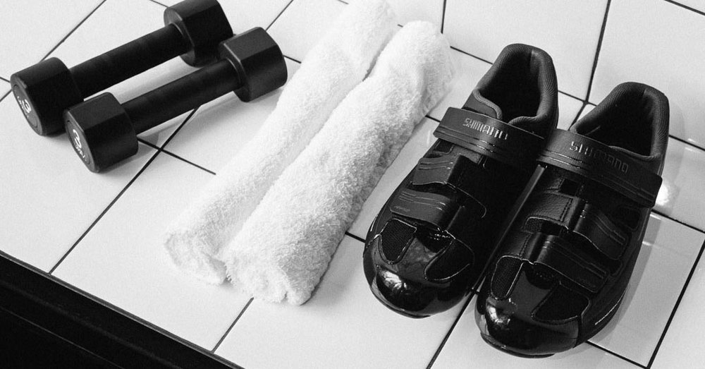 We provide shoes, towels & toiletries. -